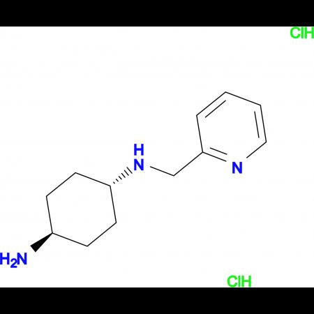 (1R*,4R*)-N1-(Pyridin-2-ylmethyl)cyclohexane-1,4-diamine dihydrochloride