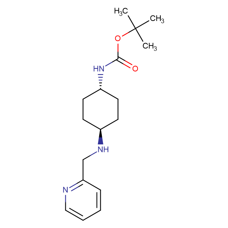 tert-Butyl (1R*,4R*)-4-[(pyridin-2-ylmethyl)amino]-cyclohexylcarbamate