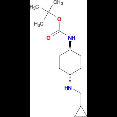 tert-Butyl (1R*,4R*)-4-[(cyclopropylmethyl)amino]-cyclohexylcarbamate