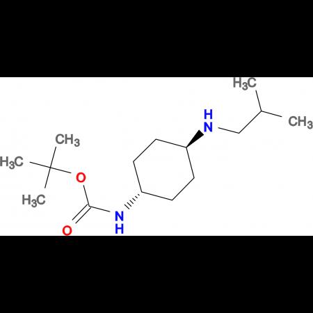 tert-Butyl (1R*,4R*)-4-(isobutylamino)cyclohexylcarbamate