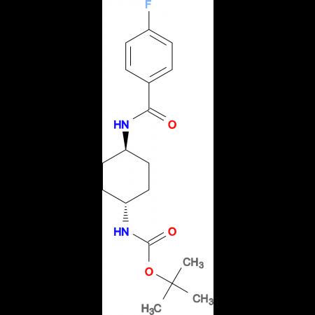 tert-Butyl (1R*,4R*)-4-(4-fluorobenzamido)-cyclohexylcarbamate