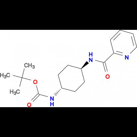 tert-Butyl (1R*,4R*)-4-(picolinamido)cyclohexylcarbamate