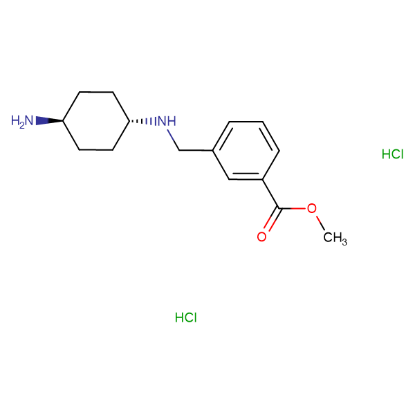 Methyl 3-({[(1R,4R)-4-aminocyclohexyl]amino}-methyl)benzoate dihydrochloride