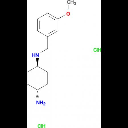 (1R*,4R*)-N1-(3-Methoxybenzyl)cyclohexane-1,4-diamine dihydrochloride