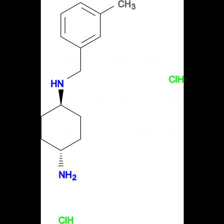 (1R*,4R*)-N1-(3-Methylbenzyl)cyclohexane-1,4-diamine dihydrochloride