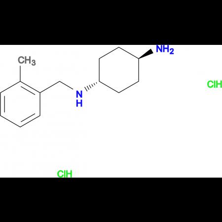 (1R*,4R*)-N1-(2-Methylbenzyl)cyclohexane-1,4-diamine dihydrochloride