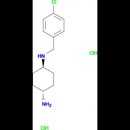 (1R*,4R*)-N1-(4-Chlorobenzyl)cyclohexane-1,4-diamine dihydrochloride