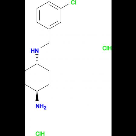 (1R*,4R*)-N1-(3-Chlorobenzyl)cyclohexane-1,4-diamine dihydrochloride