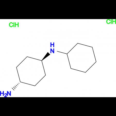 (1R*,4R*)-N1-Cyclohexylcyclohexane-1,4-diamine dihydrochloride