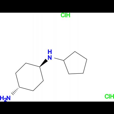 (1R*,4R*)-N1-Cyclopentylcyclohexane-1,4-diamine dihydrochloride