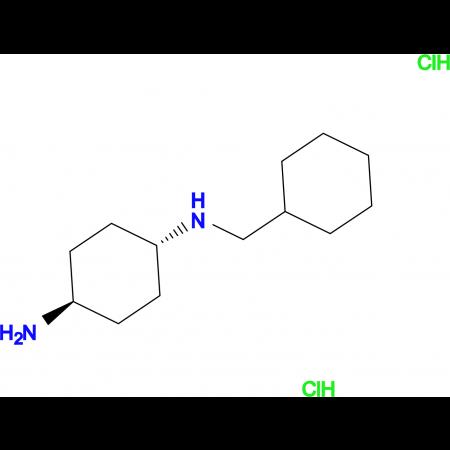(1R*,4R*)-N1-(Cyclohexylmethyl)cyclohexane-1,4-diamine dihydrochloride
