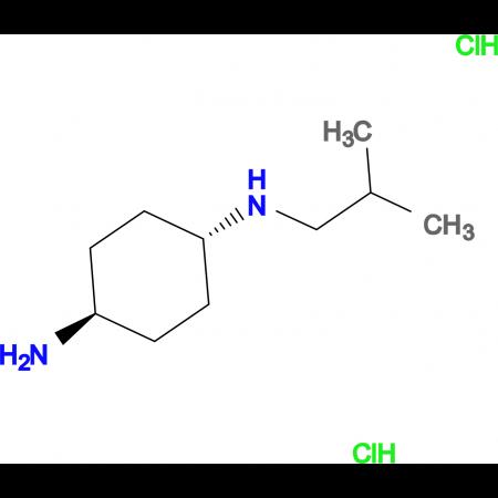 (1R*,4R*)-N1-Isobutylcyclohexane-1,4-diamine dihydrochloride