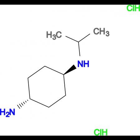 (1R*,4R*)-N1-Isopropylcyclohexane-1,4-diamine dihydrochloride