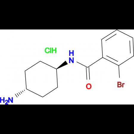 [(1R*,4R*)-4-Aminocyclohexyl]-2-bromobenzamide hydrochloride