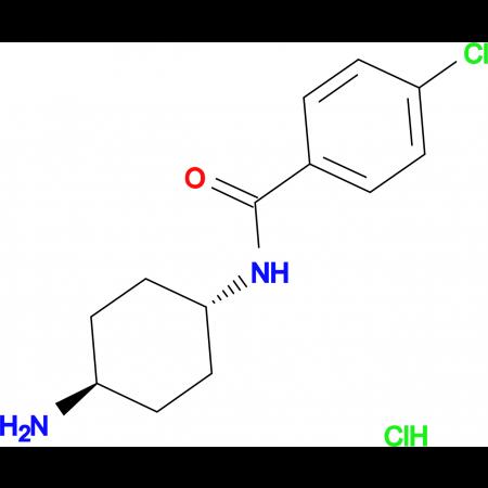 N-[(1R*,4R*)-4-Aminocyclohexyl]-4-chlorobenzamide hydrochloride