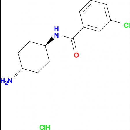 N-[(1R*,4R*)-4-Aminocyclohexyl]-3-chlorobenzamide hydrochloride