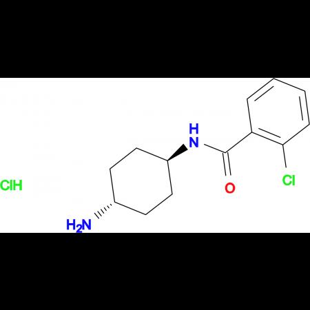 N-[(1R*,4R*)-4-Aminocyclohexyl]-2-chlorobenzamide hydrochloride
