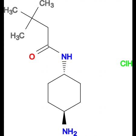 N-[(1R*,4R*)-4-Aminocyclohexyl]-3,3-dimethylbutanamide hydrochloride