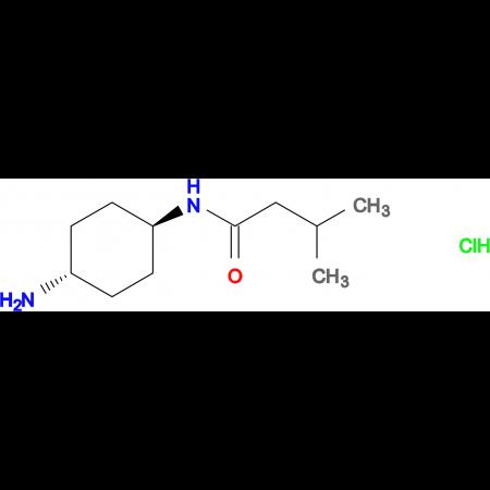 N-[(1R*,4R*)-4-Aminocyclohexyl]-3-methylbutanamide hydrochloride