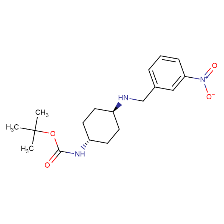 tert-Butyl (1R*,4R*)-4-(3-nitrobenzylamino)cyclohexylcarbamate