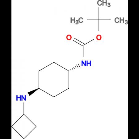tert-Butyl (1R*,4R*)-4-(cyclobutylamino)cyclohexylcarbamate