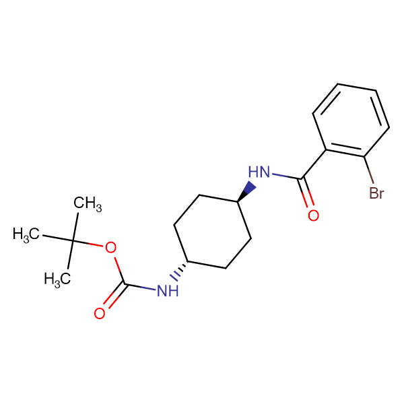 tert-Butyl (1R*,4R*)-4-(2-bromobenzamido)cyclohexylcarbamate