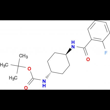 tert-Butyl (1R*,4R*)-4-(2-fluorobenzamido)cyclohexylcarbamate