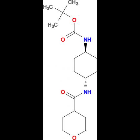 tert-Butyl (1R*,4R*)-4-(tetrahydro-2H-pyran-4-carbonylamino)cyclohexylcarbamate