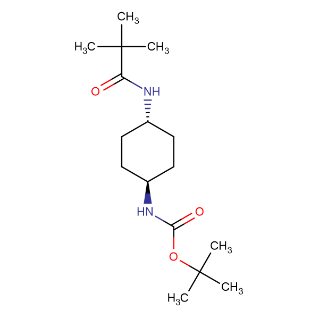tert-Butyl (1R*,4R*)-4-pivalamidocyclohexylcarbamate