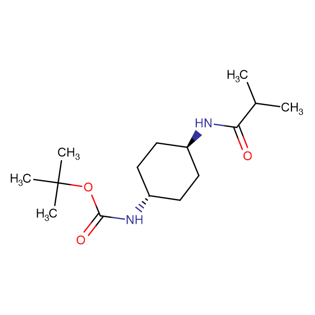 tert-Butyl (1R*,4R*)-4-isobutyramidocyclohexylcarbamate