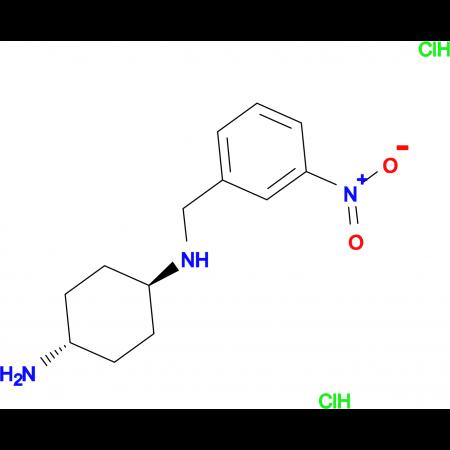 (1R*,4R*)-N1-(3-Nitrobenzyl)cyclohexane-1,4-diamine dihydrochloride