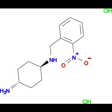 (1R*,4R*)-N1-(2-Nitrobenzyl)cyclohexane-1,4-diamine dihydrochloride