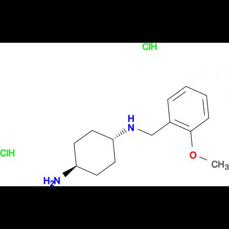 (1R*,4R*)-N1-(2-Methoxybenzyl)cyclohexane-1,4-diamine dihydrochloride