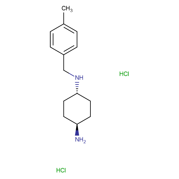 (1R*,4R*)-N1-(4-Methylbenzyl)cyclohexane-1,4-diamine dihydrochloride