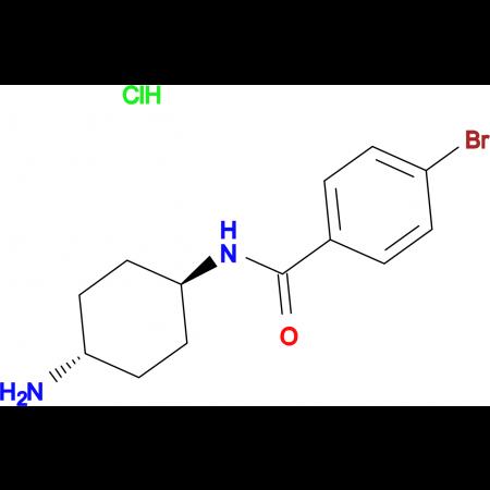 N-[(1R*,4R*)-4-Aminocyclohexyl]-4-bromobenzamide hydrochloride