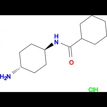 N-[(1R*,4R*)-4-Aminocyclohexyl]cyclohexane-carboxamide hydrochloride