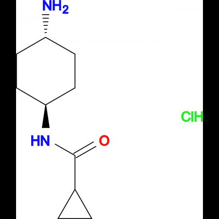 N-[(1R*,4R*)-4-Aminocyclohexyl]cyclopropane-carboxamide hydrochloride