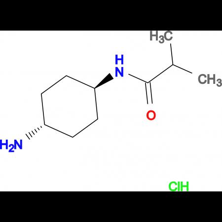 N-[(1R*,4R*)-4-Aminocyclohexyl]isobutyramide hydrochloride