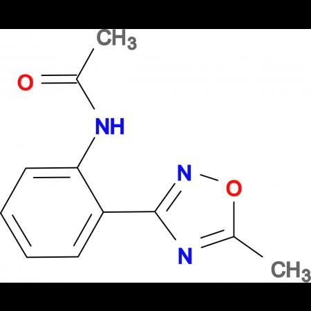 3-(2-Acetamidophenyl)-5-methyl-1,2,4-oxadiazole