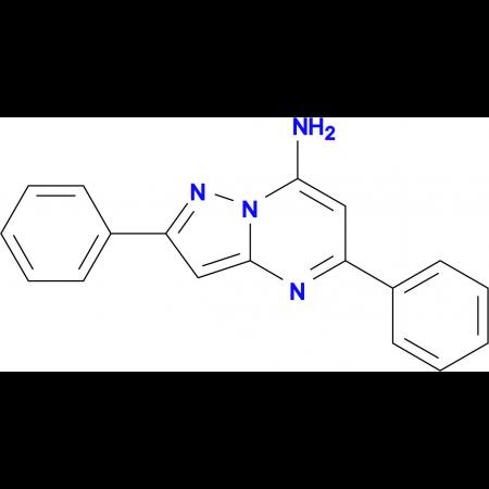 7-Amino-2,5-diphenylpyrazolo[1,5-a]pyrimidine