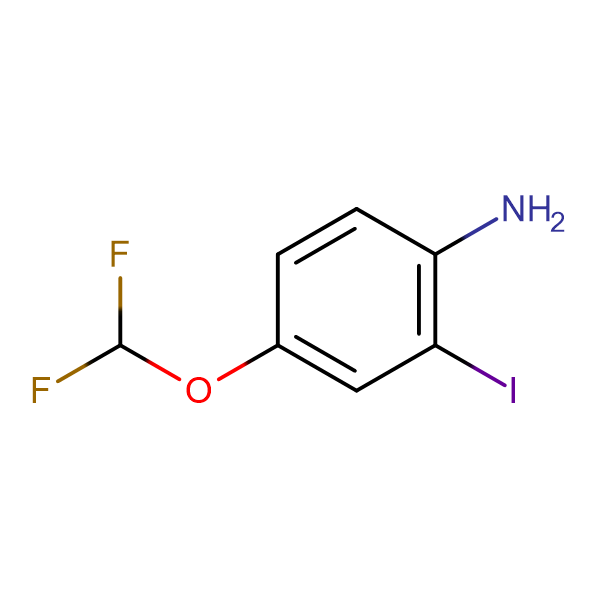 2-Iodo-4-difluoromethoxyaniline