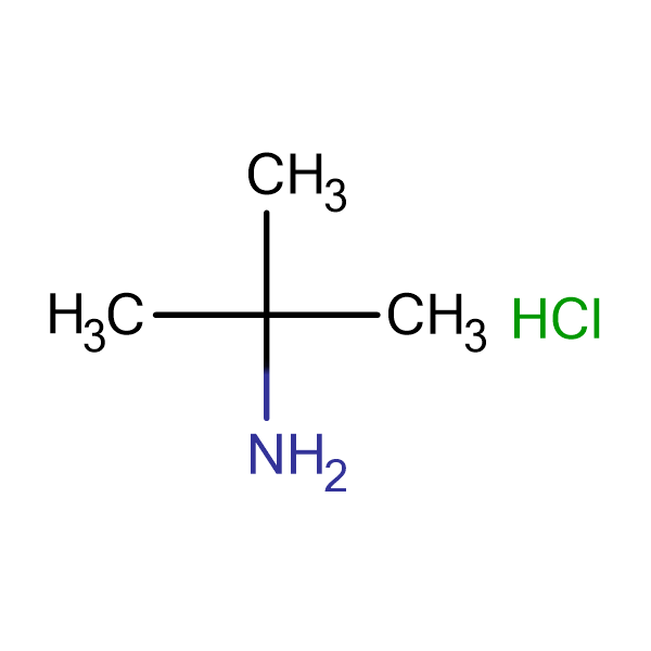 2-Methylpropan-2-aminium chloride