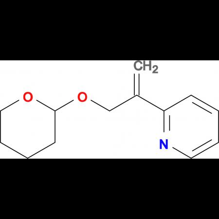 2-[3-(Oxan-2-yloxy)prop-1-en-2-yl]pyridine