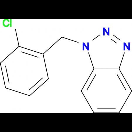 1-[(2-Chlorophenyl)methyl]-1H-1,2,3-benzotriazole