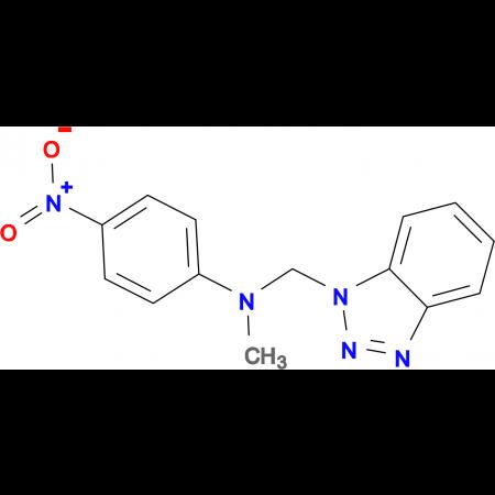 N-(1H-1,2,3-Benzotriazol-1-ylmethyl)-N-methyl-4-nitroaniline