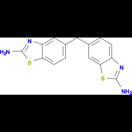 6-[(2-Amino-1,3-benzothiazol-5-yl)methyl]-1,3-benzothiazol-2-amine