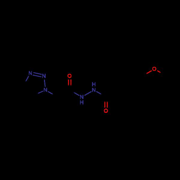 N'-[2-(1H-1,2,3-Benzotriazol-1-yl)acetyl]-4-methoxybenzohydrazide
