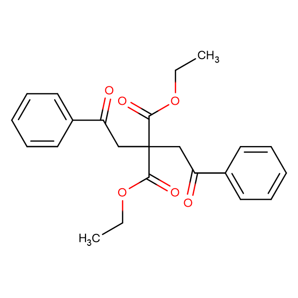 1,3-Diethyl 2,2-bis(2-oxo-2-phenylethyl)propanedioate