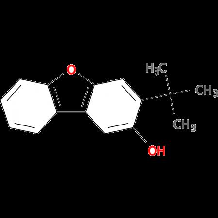 3-tert-Butyldibenzo[b,d]furan-2-ol