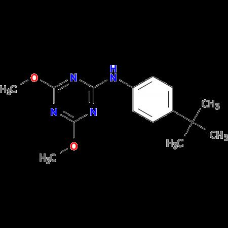 N-(4-tert-Butylphenyl)-4,6-dimethoxy-1,3,5-triazin-2-amine